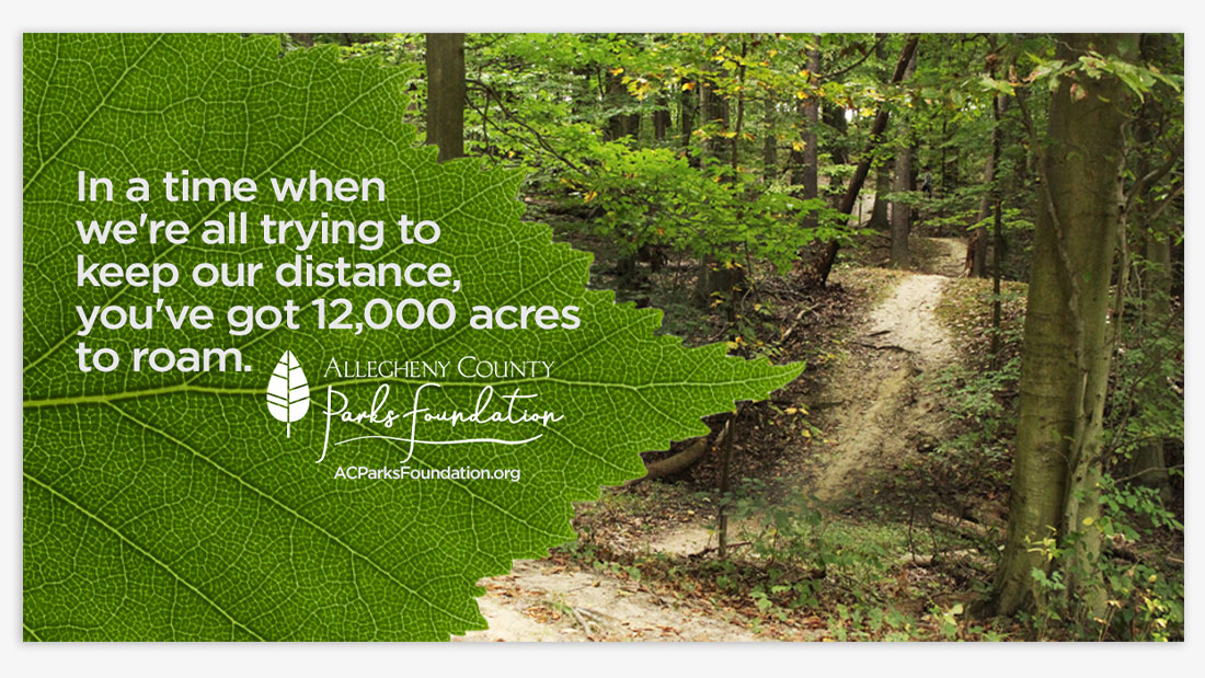 find new trails at the parks
