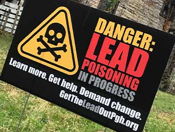 Danger: Lead Poisoning in process