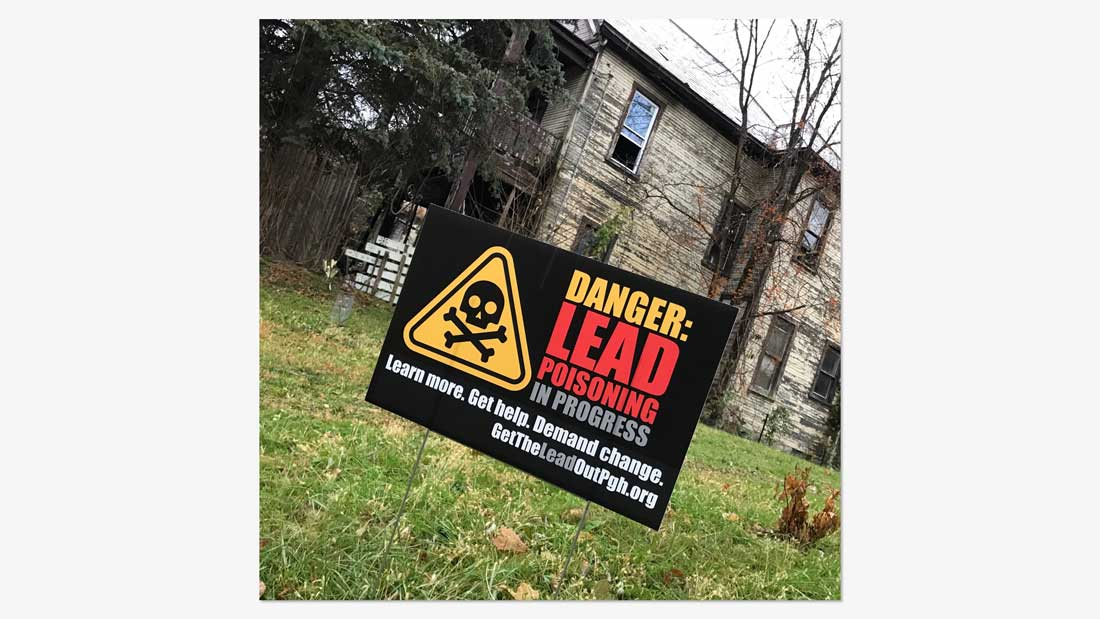 Danger: Lead poisoning in progress