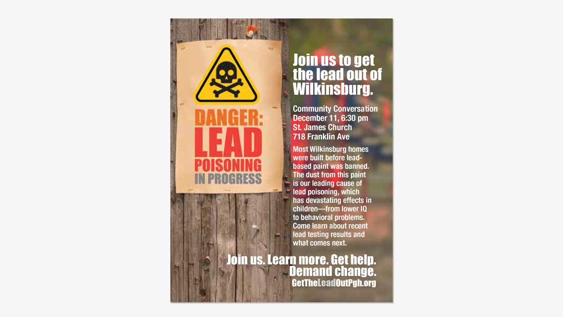 Join us to Get the Lead Out of Wilkinsburgh