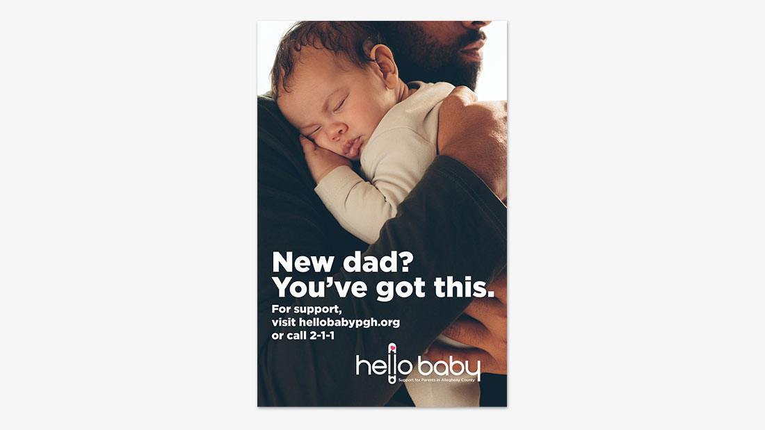 Hello Baby. New Dad?